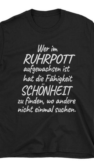 Ruhrpott meine Heimat | T-Shirt Schwarz